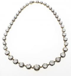 Highly Important Antique Diamond Necklace - 1018919