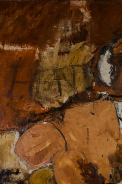 Hilda O Connell Abstract Expressionist Diptych by Hilda OConnell 1965 - 334537