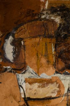 Hilda O Connell Abstract Expressionist Diptych by Hilda OConnell 1965 - 334539