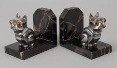 Hippolyte Fran ois Moreau Pair French Art Deco Bookends By H Moreau - 510519