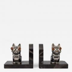 Hippolyte Fran ois Moreau Pair French Art Deco Bookends By H Moreau - 511776