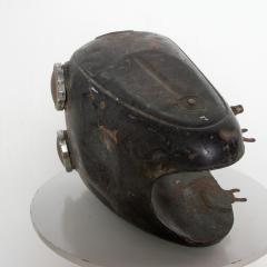 Hipster BLACK Vintage Motorcycle Gas Tank Dual Cap Mod Sportster 1960s - 2083389