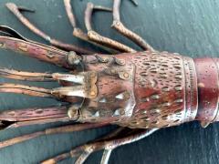 Hiroyoshi Myochin Large Japanese Articulate Lobster Okimono Meiji Period Signed - 1119443