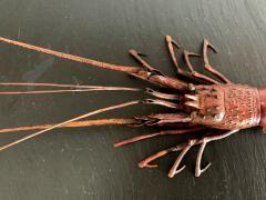 Hiroyoshi Myochin Large Japanese Articulate Lobster Okimono Meiji Period Signed - 1119450