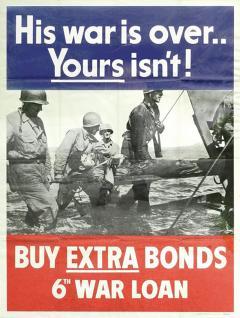 His War Is Over War Bond Poster - 641529