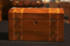 Historicism Casket Box Walnut Maple and Plum South Germany circa 1880 - 1612373
