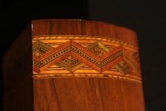 Historicism Casket Box Walnut Maple and Plum South Germany circa 1880 - 1612374