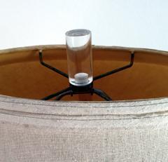 Hivo G Van Teal Vintage Sculptural Lucite Table Lamp Hivo G Van Teal - 74394