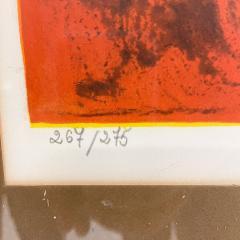 Hoi Lebadang Abstract Art Boats Along River Lithograph 267 275 Hand Signed 1970s - 1984051