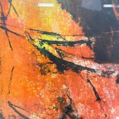 Hoi Lebadang Abstract Art Boats Along River Lithograph 267 275 Hand Signed 1970s - 1984054