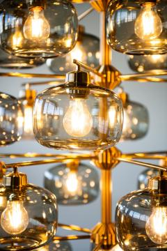 Holger Johansson Ceiling Lamp Produced by Westal - 1974747