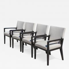 Holly Hunt Set Of 4 Holly Hunt Luna Dining Chairs   598937