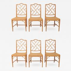 Hollywood Regency Bamboo Chairs   264750