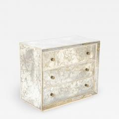 Hollywood Regency Style Mirrored Chest of Drawers - 2029129