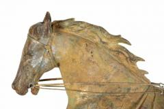 Horse George M Patchen with a Sulkey and Driver Large Weathervane - 594131