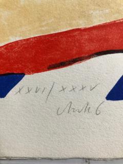 Horst Antes 2 Horst Antes Color Lithographs circa 1968 - 1533871