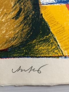 Horst Antes 2 Horst Antes Color Lithographs circa 1968 - 1533872