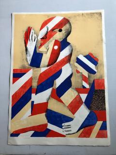 Horst Antes 2 Horst Antes Color Lithographs circa 1968 - 1533874