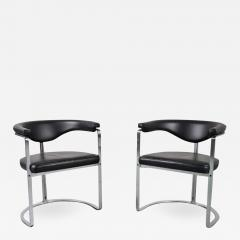 Horst Bruning Pair of Horst Br ning dining chairs for Kill International Germany 1968 - 1147527