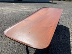 Hovmand Olsen for Jutex Teak Coffee Table Denmark 1950s - 1318241