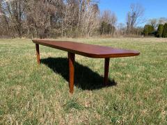 Hovmand Olsen for Jutex Teak Coffee Table Denmark 1950s - 1318251