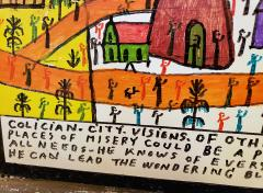 Howard Finster Colician City Visions of Other Worlds - 1206717