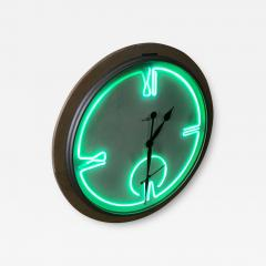 Howard Miller Postmodern Monumental Howard Miller Neon Wall Clock - 1492787