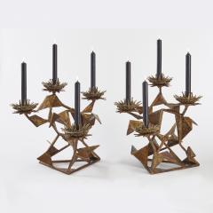 Hubert Le Gall Chardons Small Candleholders - 907703