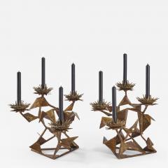 Hubert Le Gall Chardons Small Candleholders - 908445