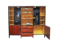 Huchers Minvielle Mid Century French Cabinet in Mahogany by Meubles Minvielle - 222881