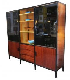 Huchers Minvielle Mid Century French Cabinet in Mahogany by Meubles Minvielle - 222883