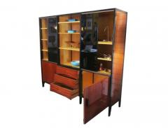 Huchers Minvielle Mid Century French Cabinet in Mahogany by Meubles Minvielle - 222884