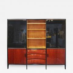 Huchers Minvielle Mid Century French Cabinet in Mahogany by Meubles Minvielle - 223816