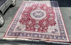 Huge 12 by 16 Vintage Hand Made Persian Wool Rug - 1999920