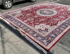 Huge 12 by 16 Vintage Hand Made Persian Wool Rug - 1999922