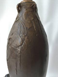 Hugo Elmquist Almost a Pair of Bronze Lamps by Hugo Elmquist circa 1900 - 1027870