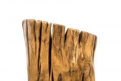 Hugo Franca Guasca V Stool by Hugo Fran a in Pequi Wood - 1222333