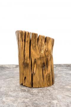 Hugo Franca Guasca V Stool by Hugo Fran a in Pequi Wood - 1222335