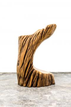 Hugo Franca Ita Stool in Reclaimed Pequi Wood by Hugo Fran a - 1222331