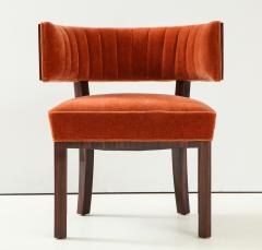 Hungarian Art Deco Macassar Ebony Club Chairs - 1266769