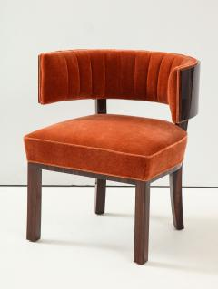Hungarian Art Deco Macassar Ebony Club Chairs - 1266770