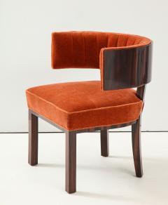 Hungarian Art Deco Macassar Ebony Club Chairs - 1266771
