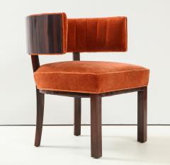 Hungarian Art Deco Macassar Ebony Club Chairs - 1266776