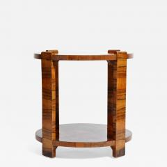 Hungarian Art Deco Side Table - 1194583