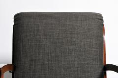 Hungarian Art Deco Walnut Chair - 1024755
