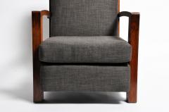 Hungarian Art Deco Walnut Chair - 1024756