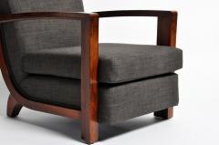 Hungarian Art Deco Walnut Chair - 1024757