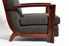 Hungarian Art Deco Walnut Chair - 1024764