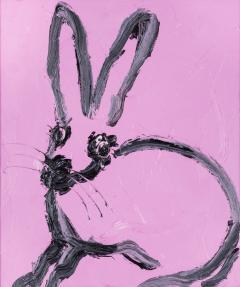 Hunt Slonem Pink Bunny EL00132  - 439145