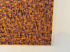 Hyunae Kang Am Modern Abstract Mixed Media Canvas Painting Pray 5 Trilogy Hyunae Kang - 1483587